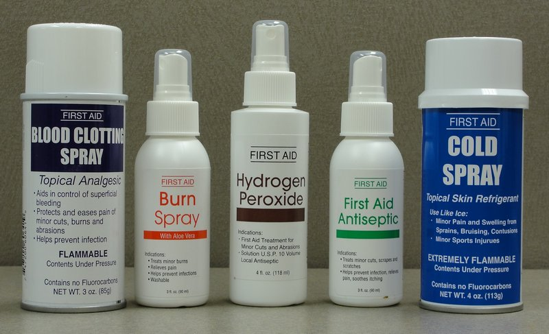 first aid sprays